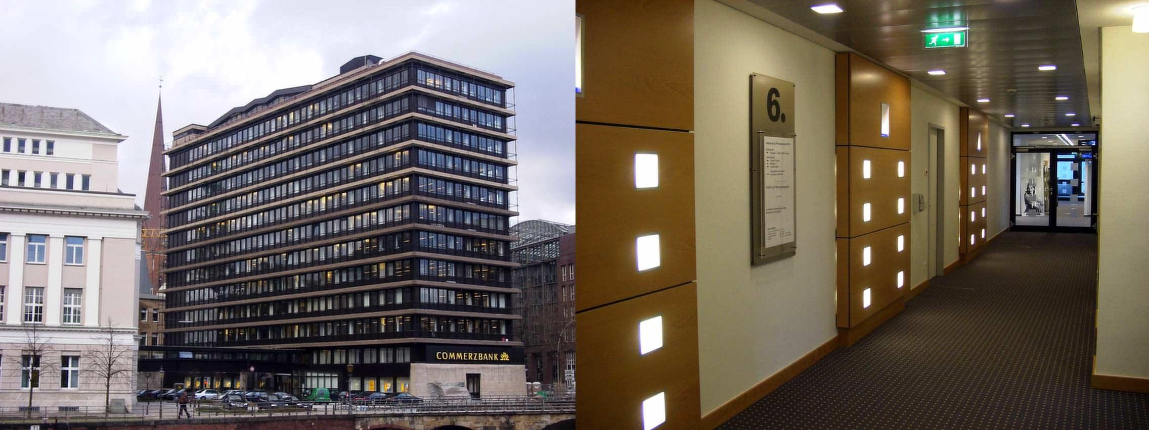 Architekturb ro idea architekten sanierung commerzbank ag for Innenarchitektur jobs hamburg